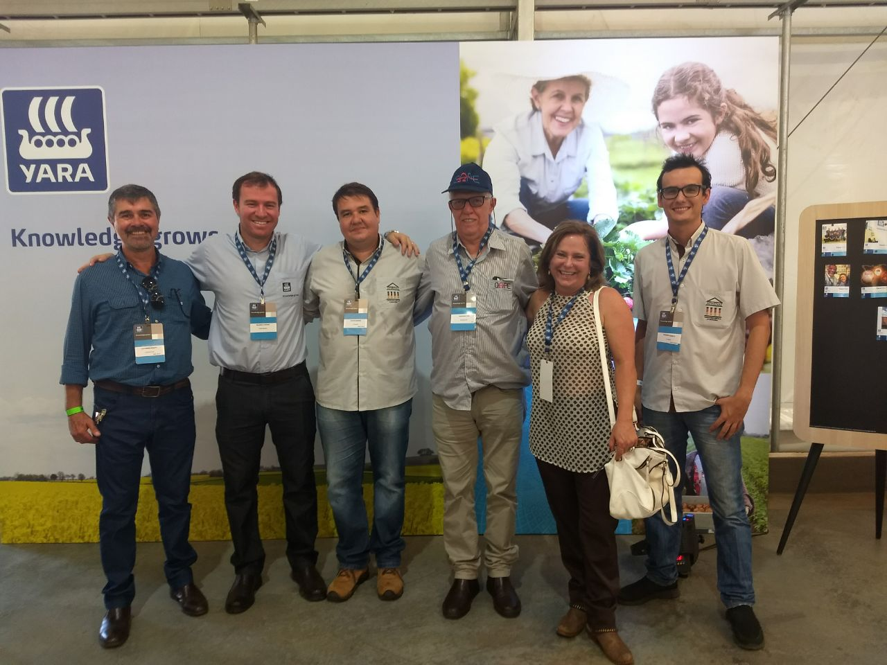 A Athenas participa da inauguração da fábrica de produção de fertilizantes líquidos da Yara