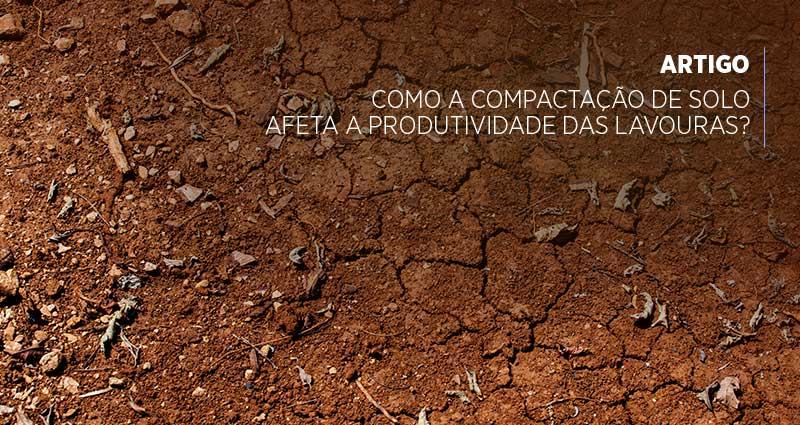 Você entende o termo compactação de solo? Descubra como afeta a produtividade das lavouras e como solucionar esse problema.